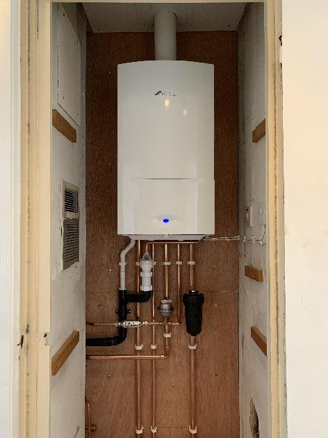 New Worcester Bosch 30i combination boiler installed