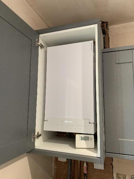 New Vissmann Combination boiler installed